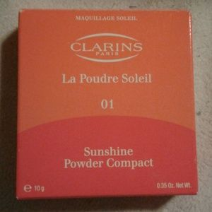 Brand new clarins sunshine powder compact
